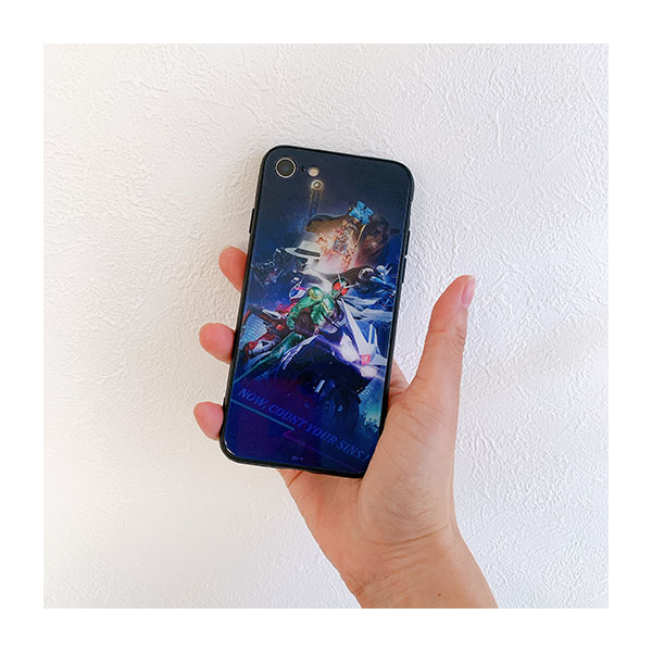 【仮面ライダーストア】仮面ライダーW 強化ガラスパネルiPhoneケース 12/12Pro