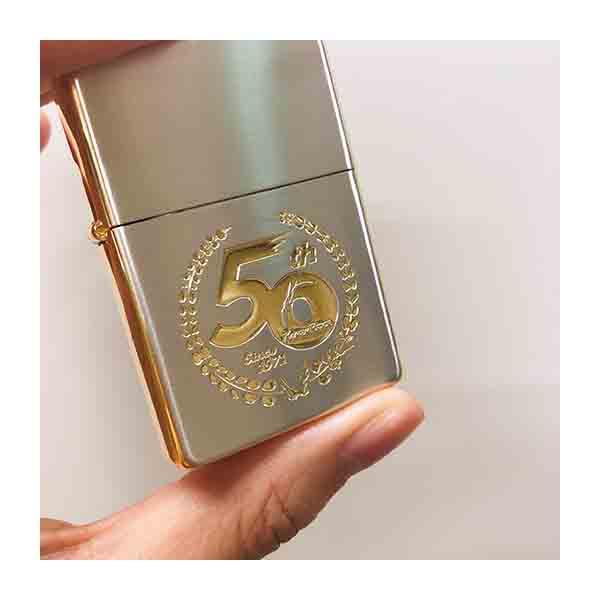 【仮面ライダーストア】仮面ライダー生誕50周年記念 Zippoライター<50周年ロゴ商品>