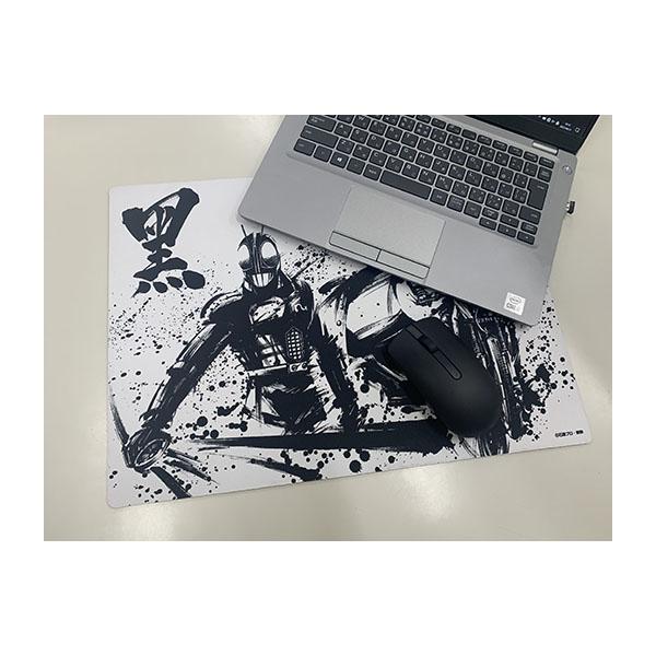 【仮面ライダーストア】仮面ライダーBLACK/BLACK RX墨絵アート デスクマット