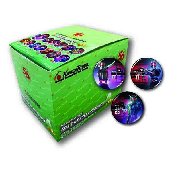 【仮面ライダーストア】<BOX販売>仮面ライダー生誕50周年記念 トレーディング缶バッジコレクションA(全13種)<オールライダー>