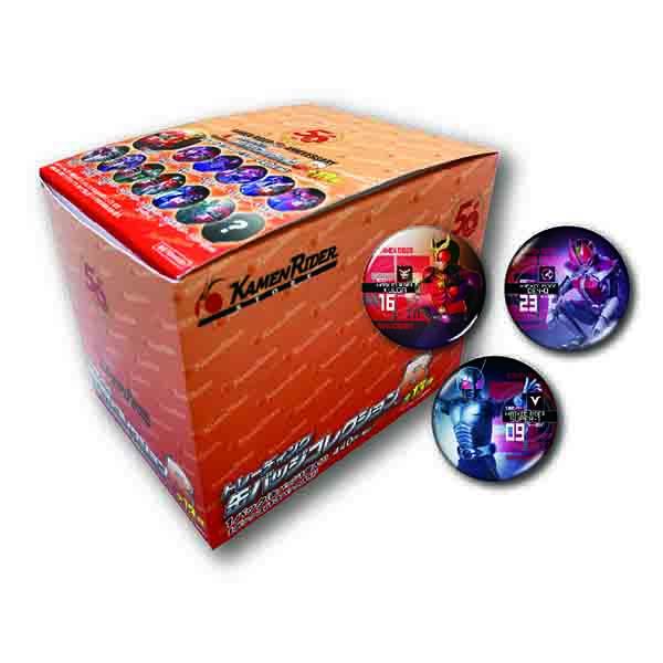 【仮面ライダーストア】<BOX販売>仮面ライダー生誕50周年記念 トレーディング缶バッジコレクションB(全13種)<オールライダー>