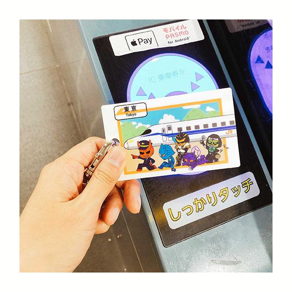 【仮面ライダーストア】東海道新幹線×イマジンズ おでかけアクリルパスケース