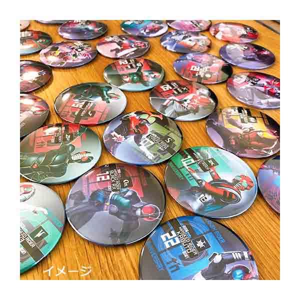 【仮面ライダーストア】仮面ライダー生誕50周年記念 トレーディング缶バッジコレクションA(全13種)<オールライダー>