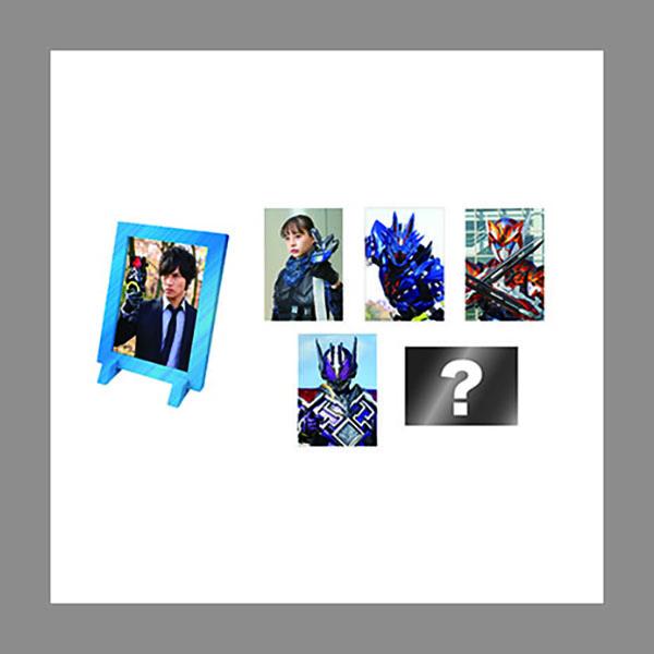 トレーディングメタリックフレームマグネットコレクション(全6種)【ゼロワン Others 仮面ライダーバルカン&バルキリー】