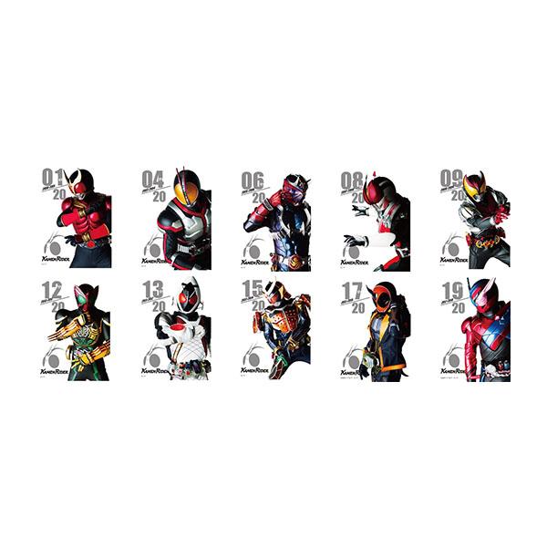【仮面ライダーストア】平成仮面ライダートレーディングフレームマグネットA<オールライダー>