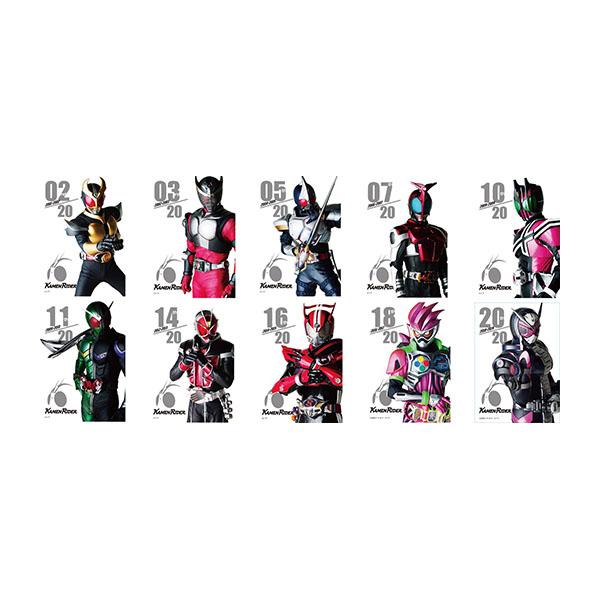 【仮面ライダーストア】平成仮面ライダートレーディングフレームマグネットB<オールライダー>