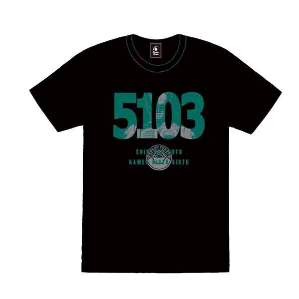 【仮面ライダーストア】仮面ライダーオーズ ナンバーTシャツ【5103】後藤慎太郎 S