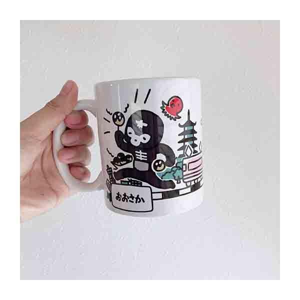 【仮面ライダーストア】YURU SHOCKERおでかけマグカップ